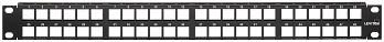 Image - New! 1RU 48-Port QuickPort<sup>®</sup> Flat Patch Panel
