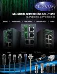 Image - Mencom Offers Industrial Networking Solutions for